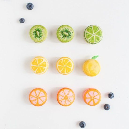 Reinventing the fruit basket one macaron DIY at a time.