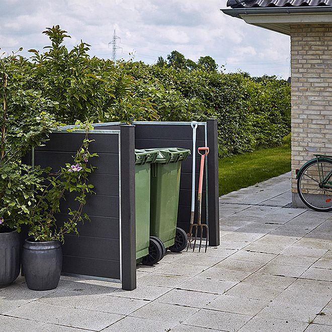 Plus Mülltonnenbox Verkleidung Futura Mülltonnenbox