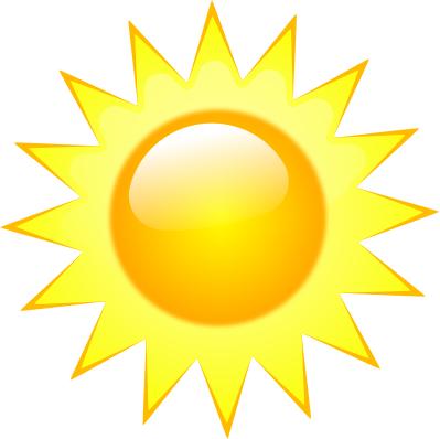 Sun Art Weather Symbols Free Clip Art Sun Clip Art