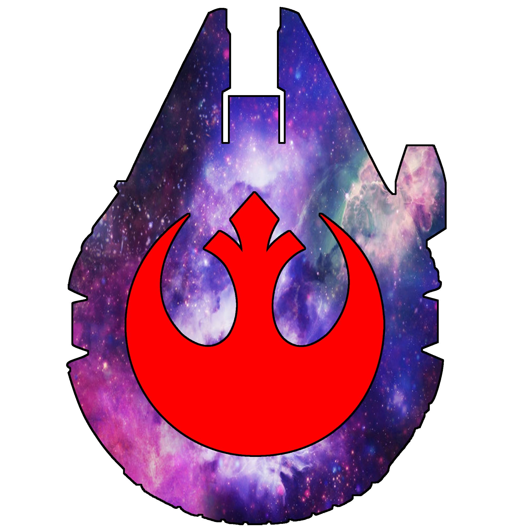 Millennium Falcon - Rebel Galaxy Tattoo Idea