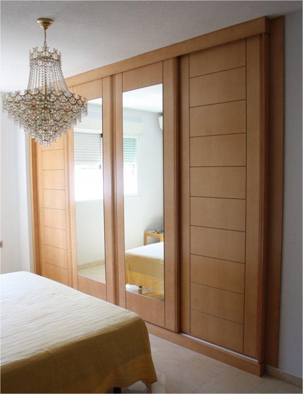 257 612 796 armarios de dormitorio pinterest for Roperos empotrados para dormitorios con espejo