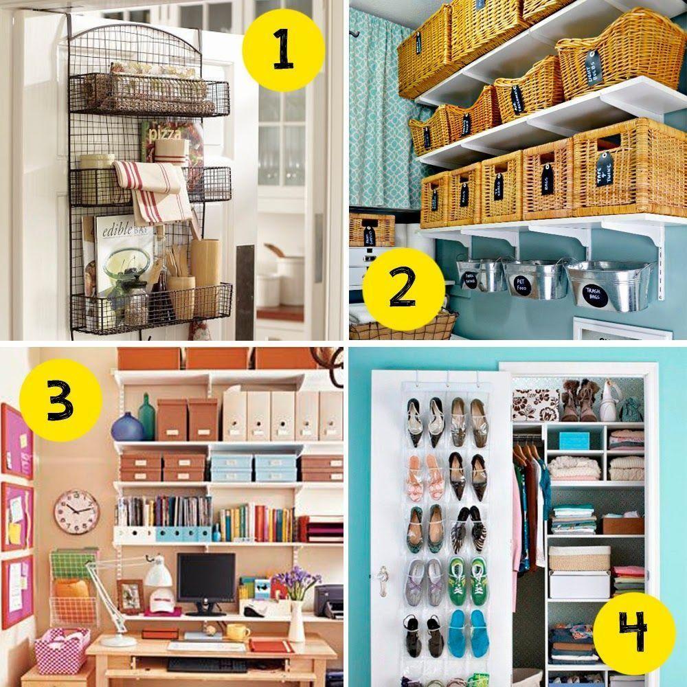 Small and low cost c mo organizar un dormitorio peque o - Como organizar un armario empotrado pequeno ...