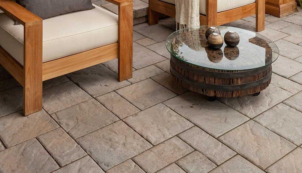 TECHO BLOC BLU 60 mm Collection (dining area and soft seating area pavers)