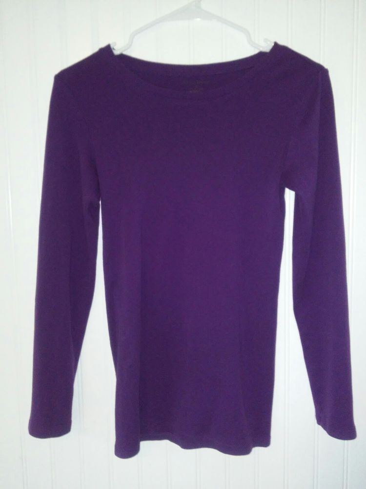Massini Women's/Juniors Top Size Medium Long sleeve shirt