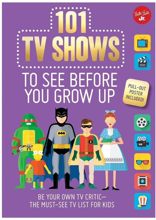 Quarto Publishing 101 TV Shows to See Before You Grow Up