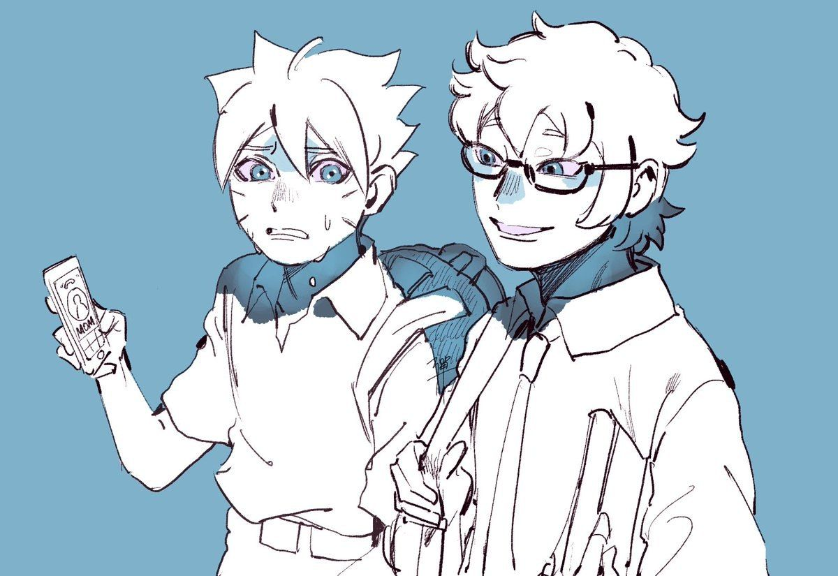 mitsuki and boruto (Có hình ảnh)