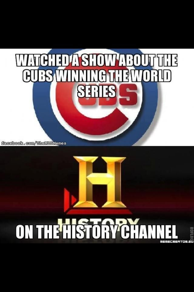 Chicago cubs suck big time