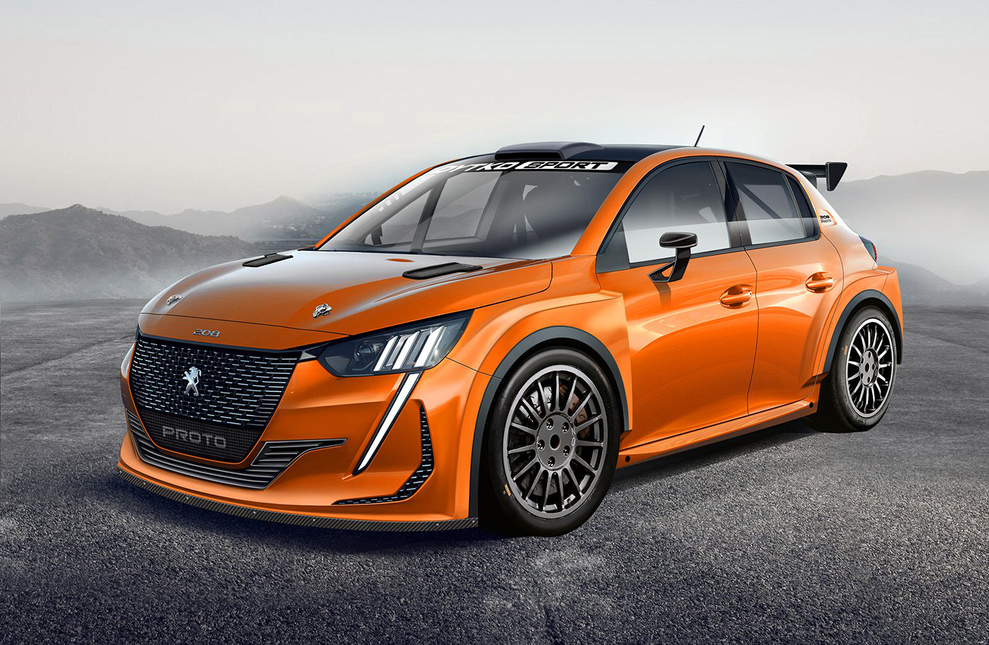 Peugeot 208 Rally Design Is What The Next GTI In WRCSpec