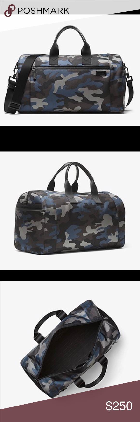 69636a109169 MK Men s Large Nylon Duffle Michael Kors Men s Travis Camouflage Large Nylon  Duffle Bag Michael Kors Bags Duffel Bags
