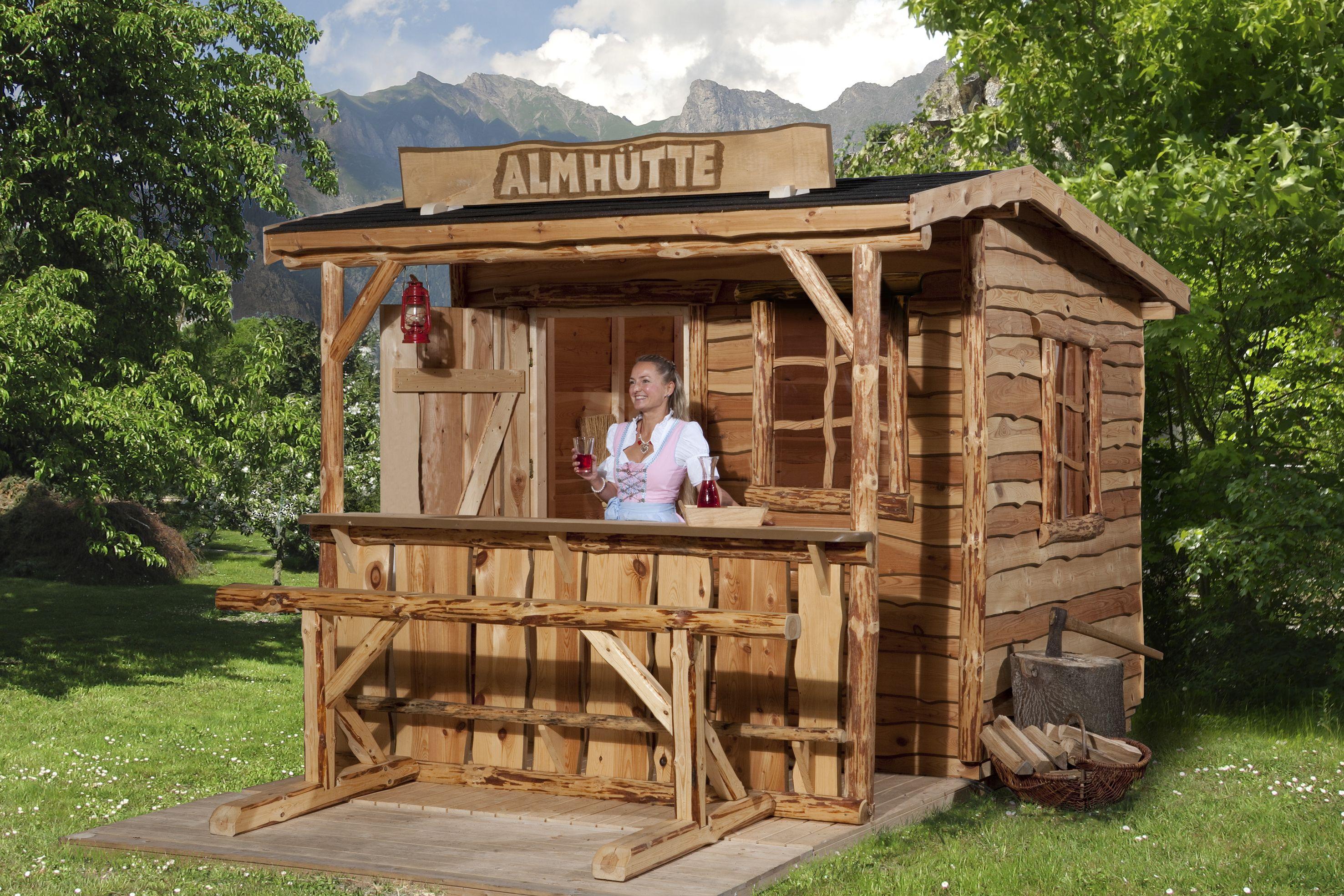 Het Ultieme Oostenrijk Gevoel Een Blokhut Die Je In De Bergen Tegenkomt Gewoon In Je Eigen Tuin Leuk Te Koop Bij Blokhutvil Blokhut Tuinhuisjes Tuinhuis