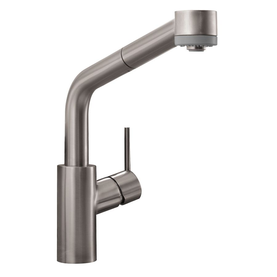 hansgrohe kitchen faucet allegro gourmet grohe shop steel optik ...