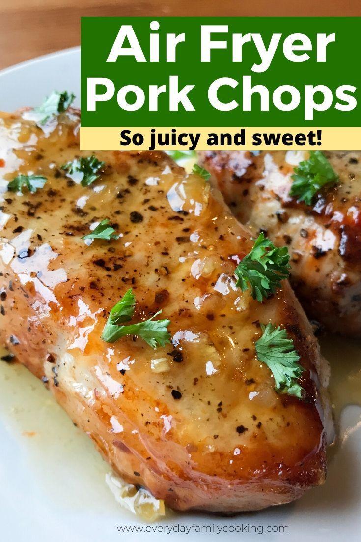 Easy Boneless Air Fryer Pork Chops in 2020 Air fryer