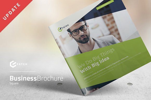 Business Square Brochure @creativework247 Brochure Design - free pamphlet templates