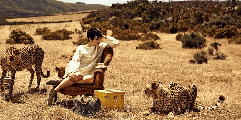 The Spirit of Travel campaign from Louis Vuitton.