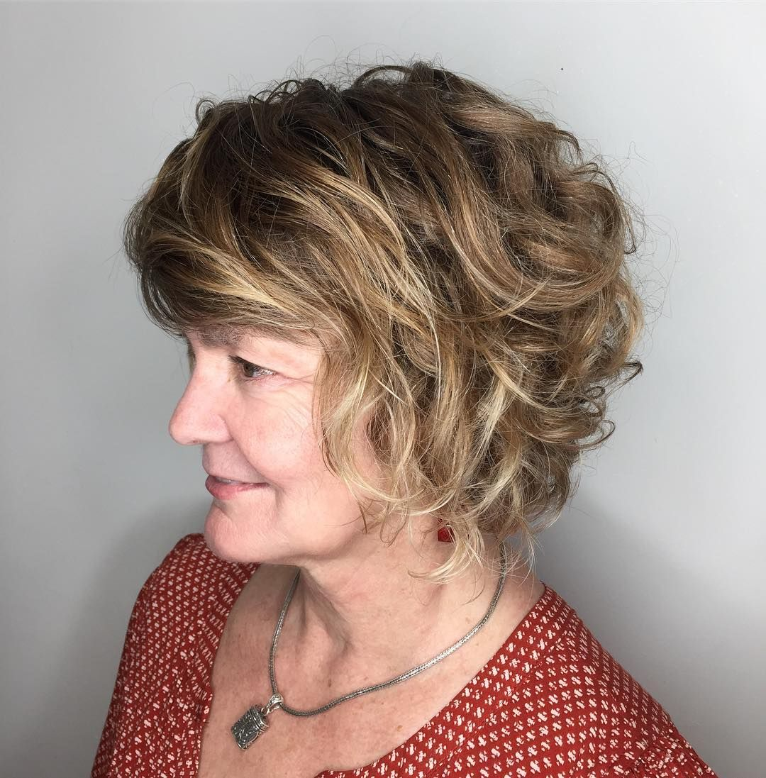100 Best Hairstyles For Women Over 50 - Hairstyles For Over 50 In 2021 |  Curly hair styles, Wavy bob hairstyles, Hairstyles over 50