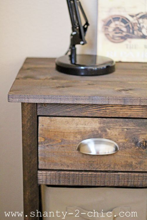 Farmhouse Night Stand For A Boys Room For The Home Diy