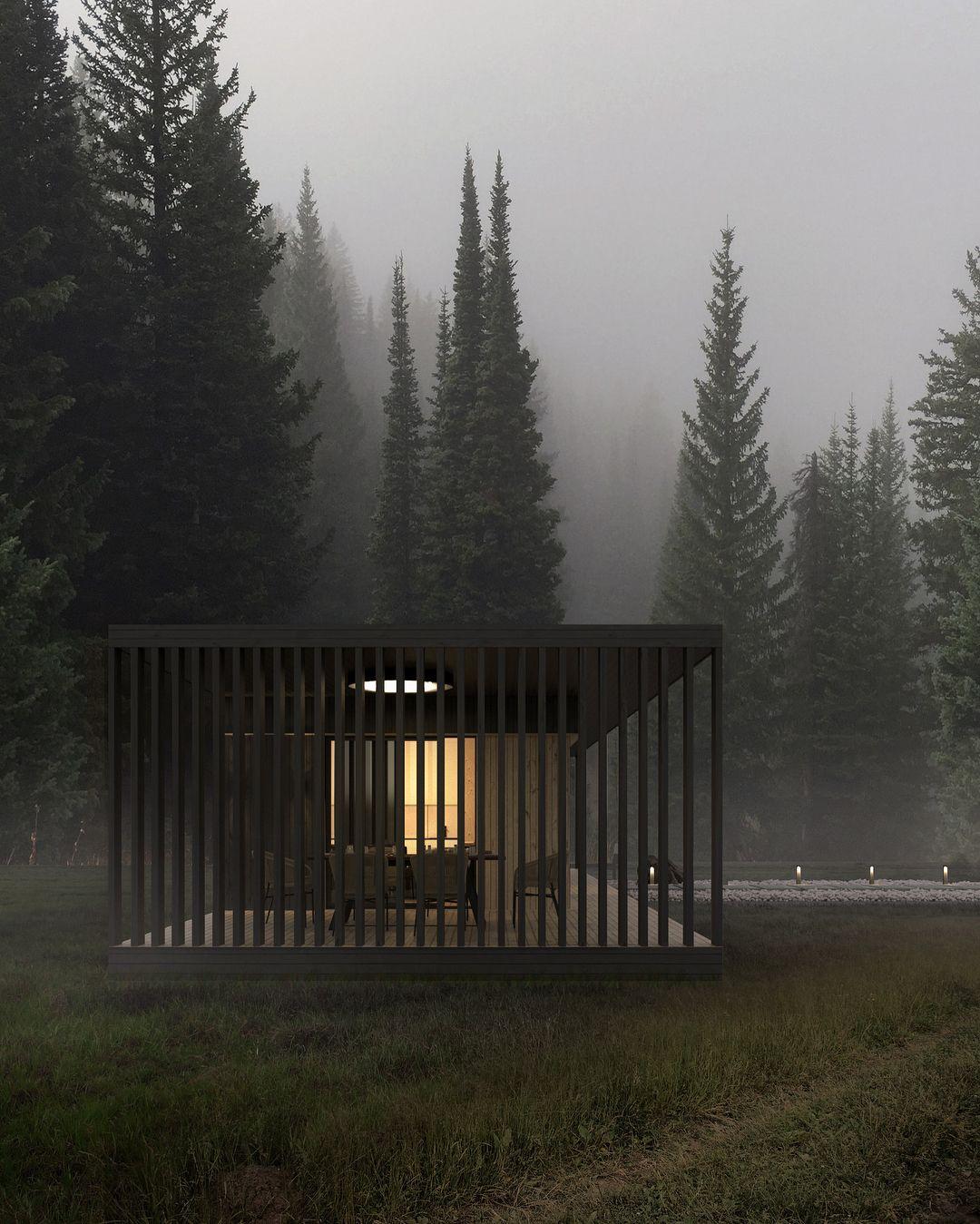 Arc Moderne The Forest : moderne, forest, Arc.only, Architecture, Maison, Moderne,, Architecture,, Mouvement, Moderne