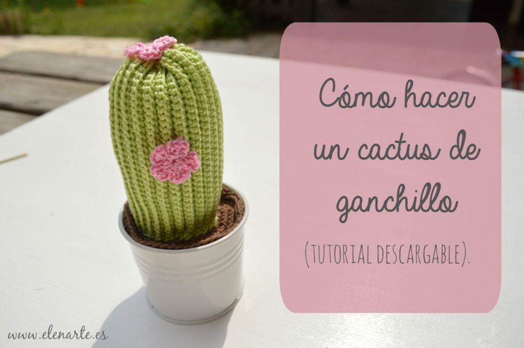 Cactus Amigurumi - Patrón Gratis en Español en versión PDF - Click ...