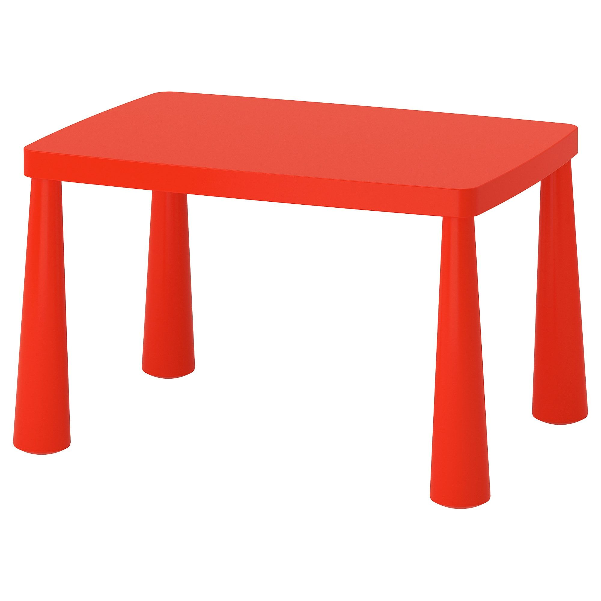 Mammut Children S Table Indoor Outdoor Red Ikea Childrens