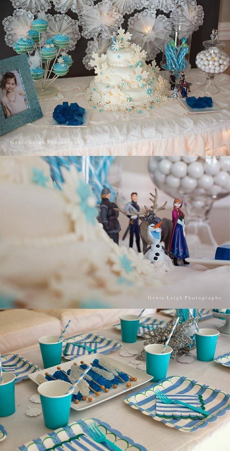 Mamãe Moderna: Festa Infantil: Frozen