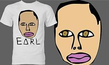 87f82e82b2d4 Odd Future Shirt OFWGKTA Free Earl Wolf Gang Earl Drawing - White T Shirt