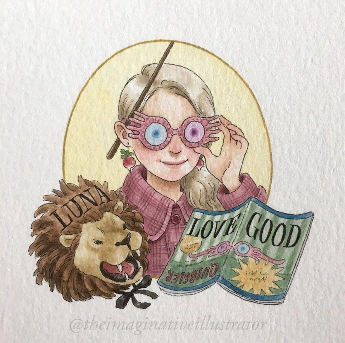 Découvrez les plus beaux dessins inspirés de lunivers Harry Potter de Melody Howe !