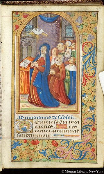 Book of Hours, MS W.6 fol. 60r - Images from Medieval and Renaissance Manuscripts - The Morgan Library & Museum