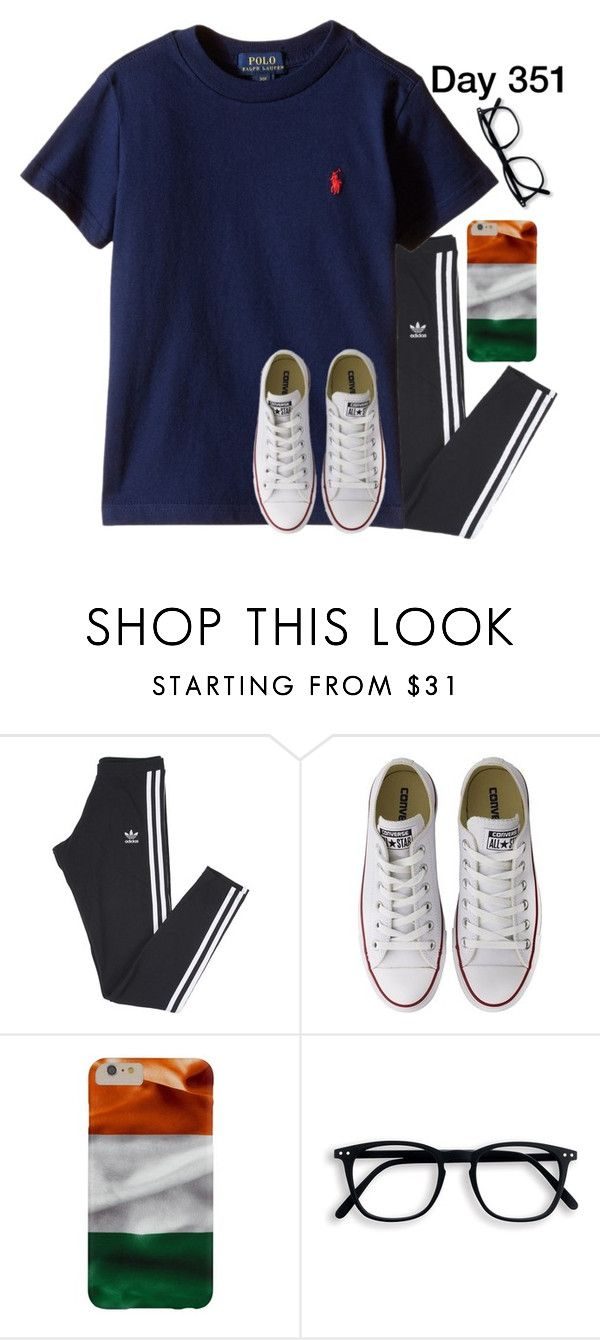 """""""Day 351 of 2016"""" by jasietote ❤ liked on Polyvore featuring adidas and Converse"""