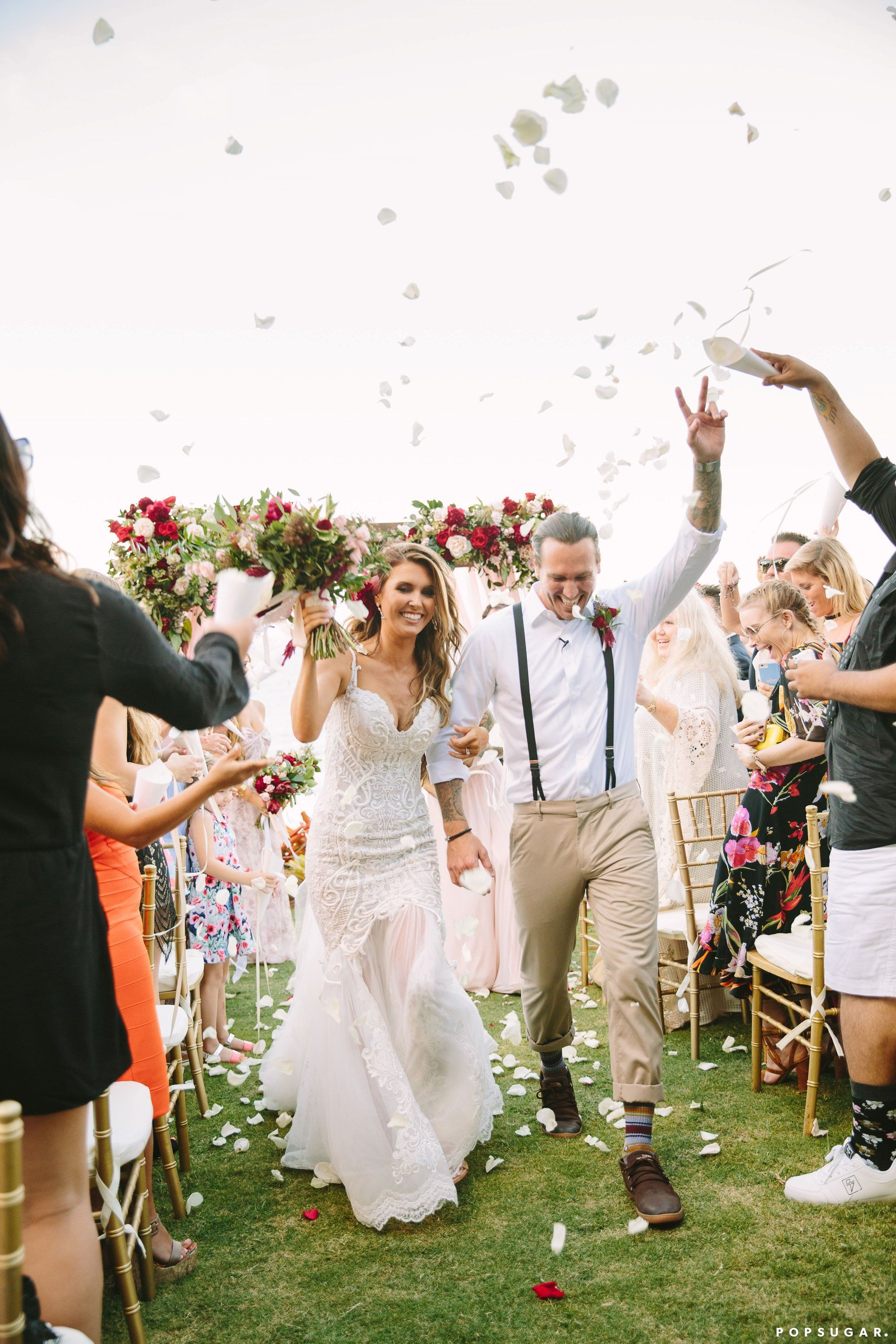 Kandi burruss wedding dress  See Photos From Audrina Patridge and Corey Bohanus Romantic Hawaiian