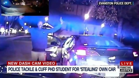 Black PhD student accused of stealing a car  hands up  saying sir  still gets tack #news #alternativenews