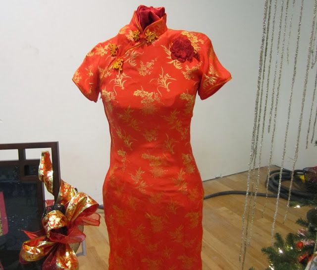 Close up of dress