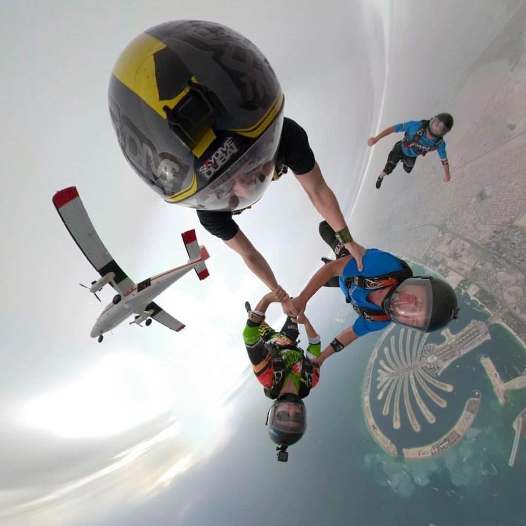 Have A Great Weekend Skydivedubai Skydivedubai Palm Dz Repost Fahoodharmoodi Live Skydiving Skydivers Mydubai Spo With Images Travel Fun Paragliding Air Sport