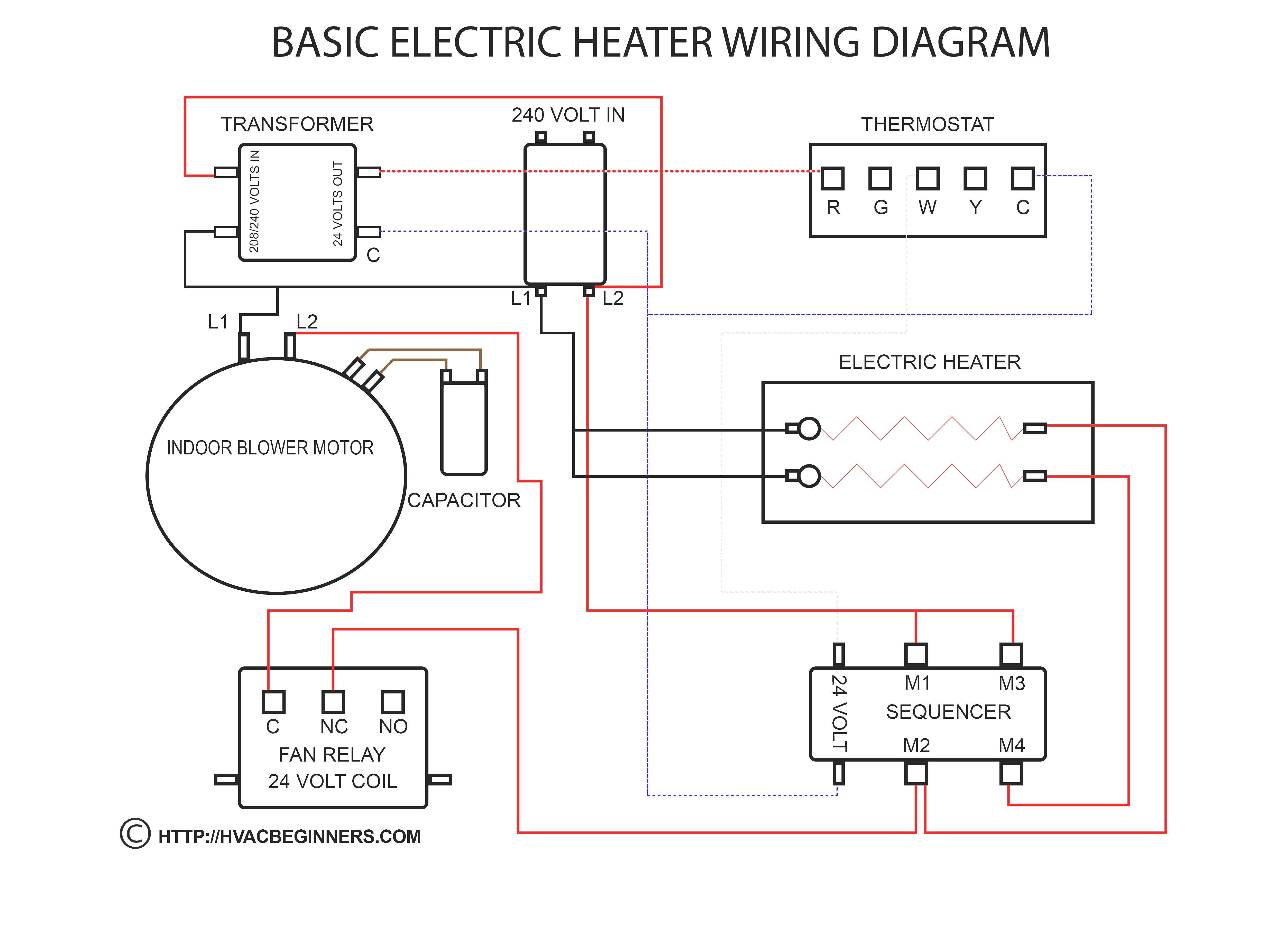 Thermostat Wiring Diagram Unique In 2020 Basic Electrical Wiring Thermostat Wiring Electrical Wiring Diagram