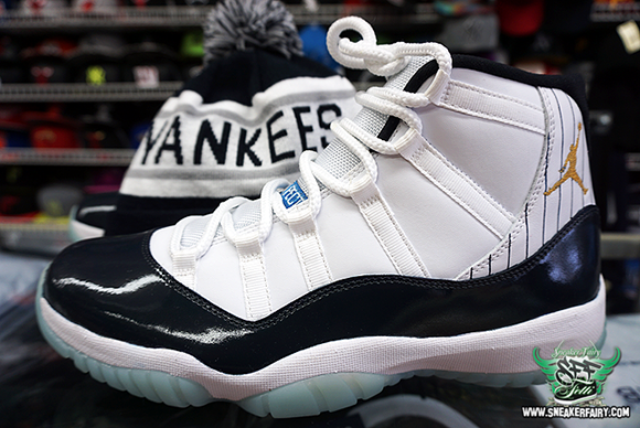 buy popular 590fb 77bee Air Jordan XI Derek Jeter Custom