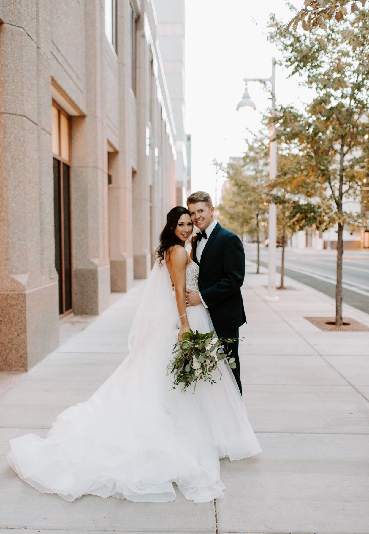 4f73e7605fec6 ... #ballgown from J Bridal Boutique in Tucson, Arizona/ Albuquerque, New  Mexico Hyatt Regency wedding / #weddingphotography by Brittney Mundy Photo