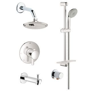 Grohe Gss Europlus Tpb 06 Shower Systems Shower Heads Shower
