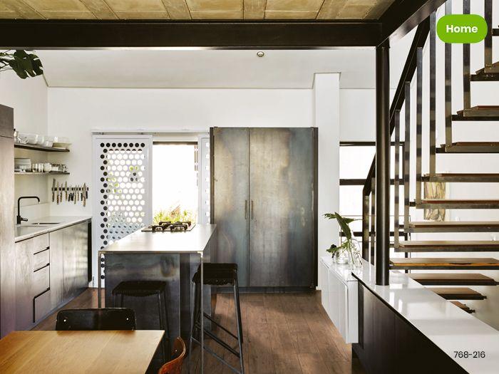 Houtlook Keuken Tegels : Inspiratie stoere keuken met houtlook tegels jan groen tegels