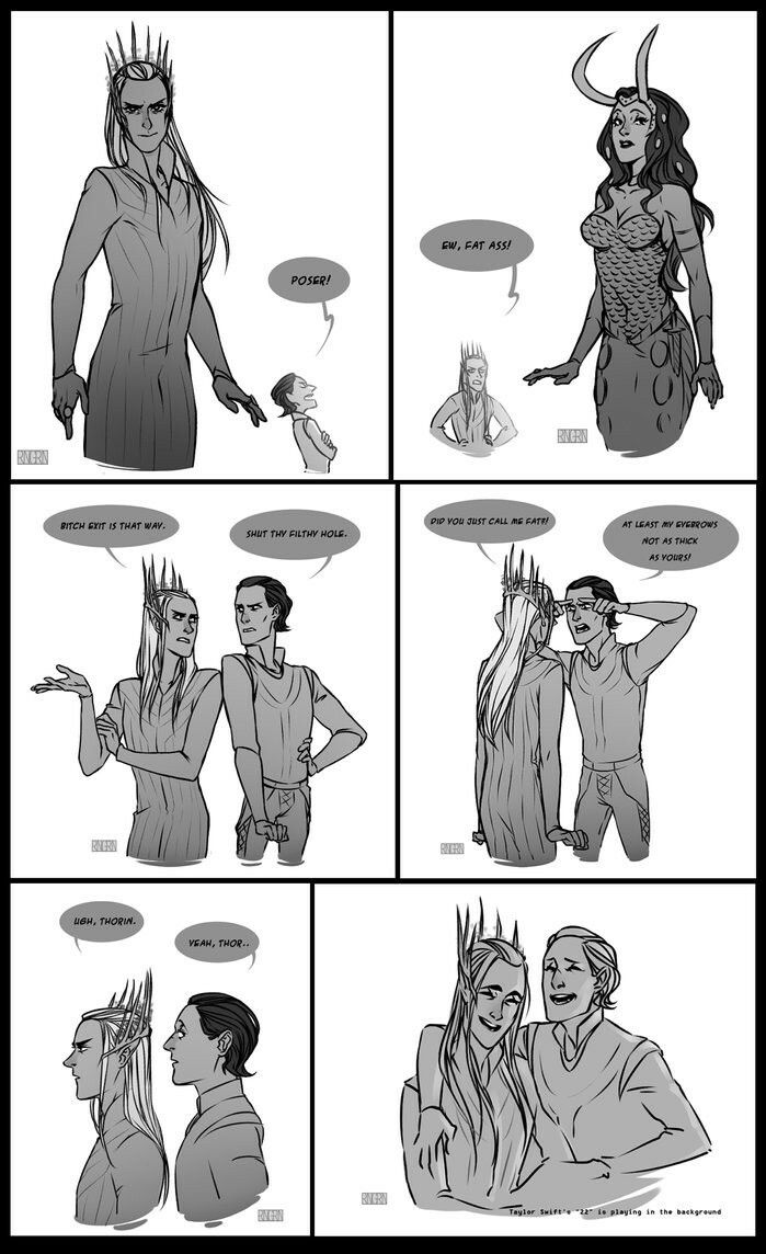 Thranduil and Loki! ♡ Best Friends ♡ | SuperHeroes
