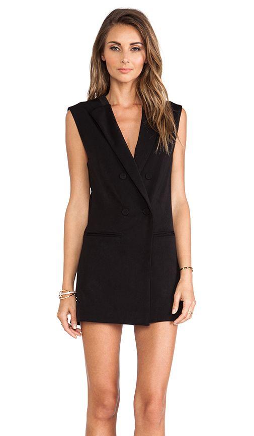 Blazer dress for NYE.