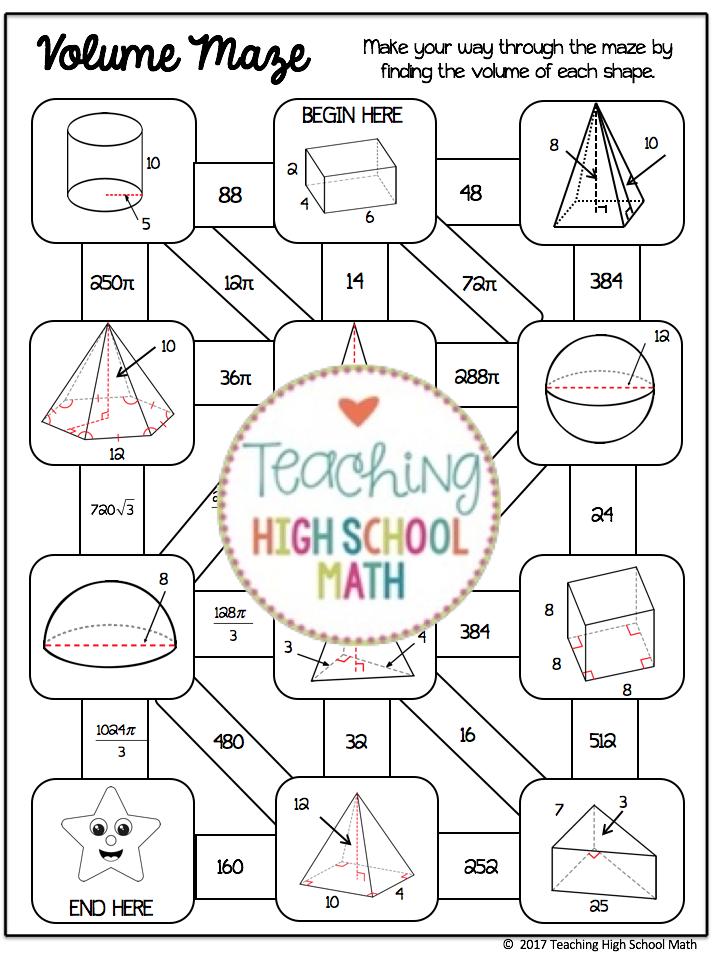 geometry mazes bundle teaching high school math pinterest secundaria geometr a and. Black Bedroom Furniture Sets. Home Design Ideas