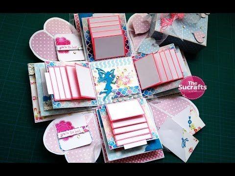 Happy Teacher Day Handmade Explosion Box Card Teachers Day Card Card Box Explosion Box