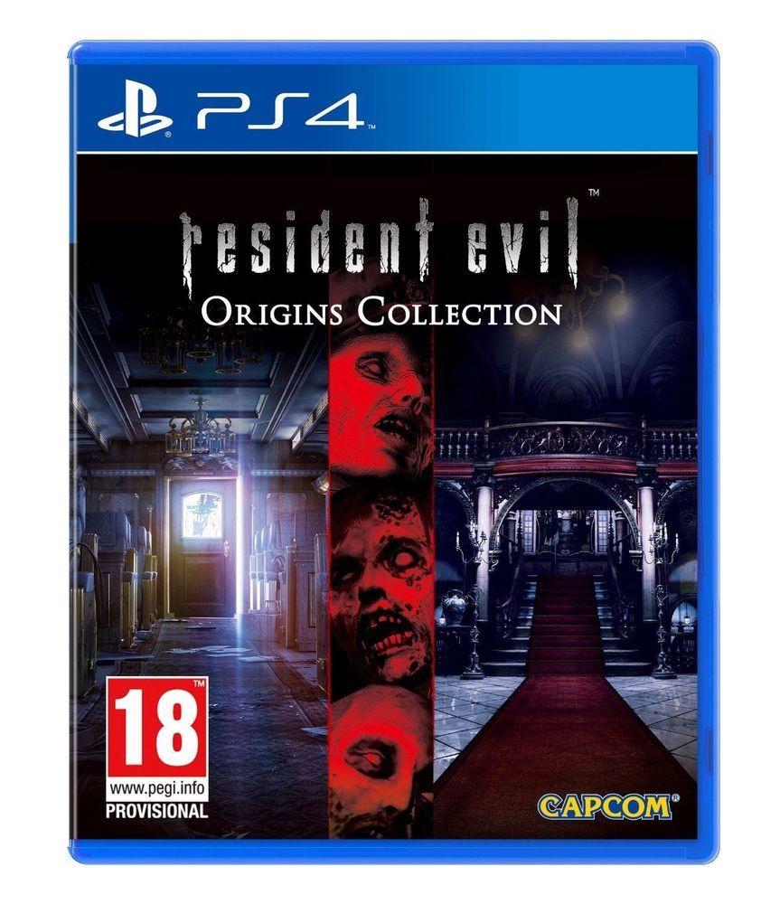 Resident Evil Origins Collection Playstation Ps4 Uk Release