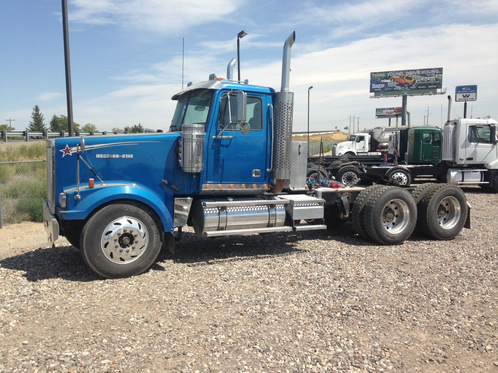 Western Star Day Cab With Wet Kit Western Star Trucks Trucks For Sale Used Trucks