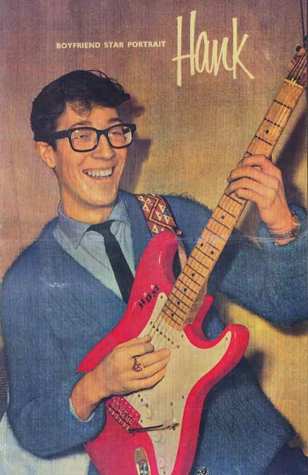 HANK MARVIN. My fiesta red hero. Apache for all time ...