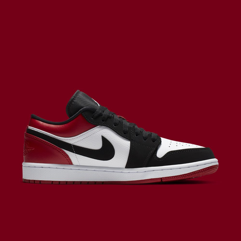 "best loved 0e877 56e7a A brand new Air Jordan 1 ""Black Toe"" Low is dropping soon 😲 💻 Check the  Link in our BIO for more information.  air  airjordan  aj1  basketball ..."