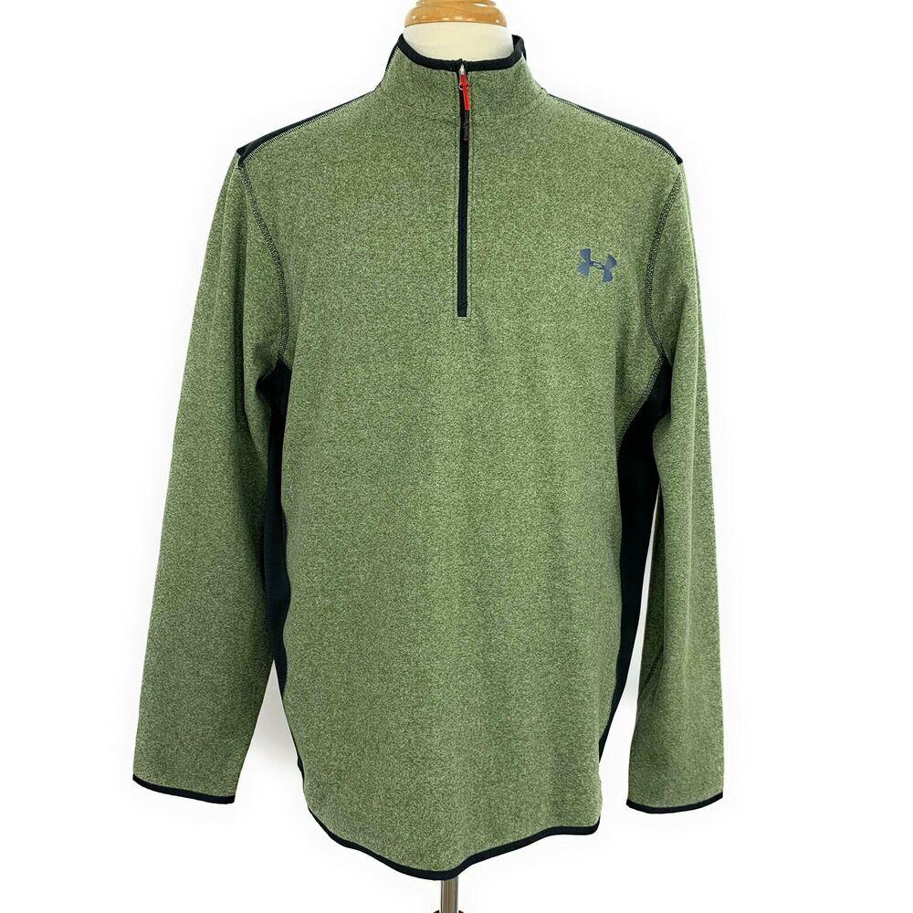 Under Armour Mens 1/2 Zip Pullover Sweatshirt Size XL