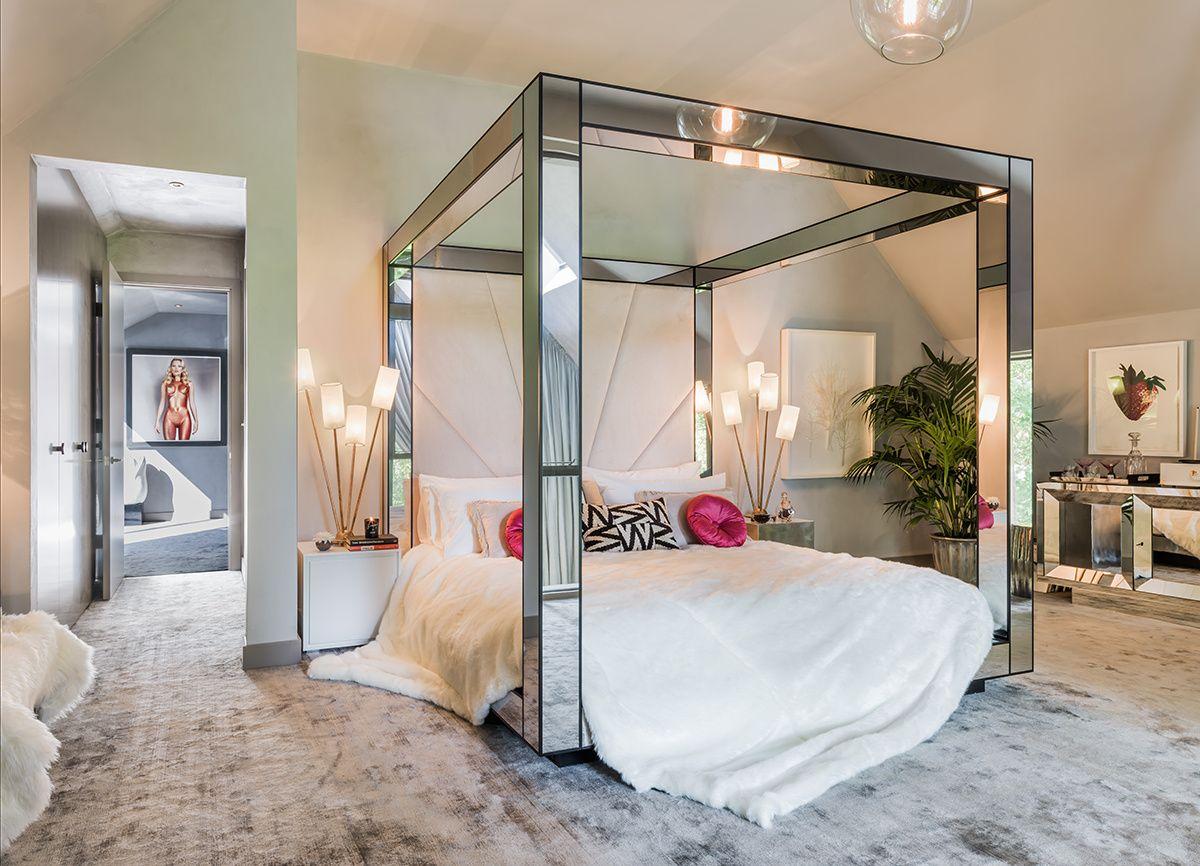 Efecto Espejo Ad Espa A Yoo La Cama Con Dosel De Cuatro  # Muebles Efecto Espejo