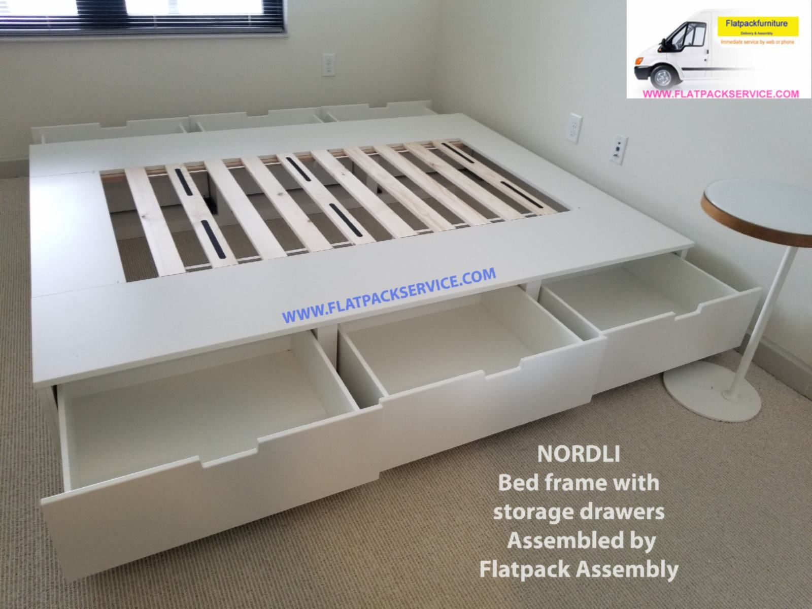 Ikea Nordli Storage Bed Assembly Washington Dc 202 277 5911