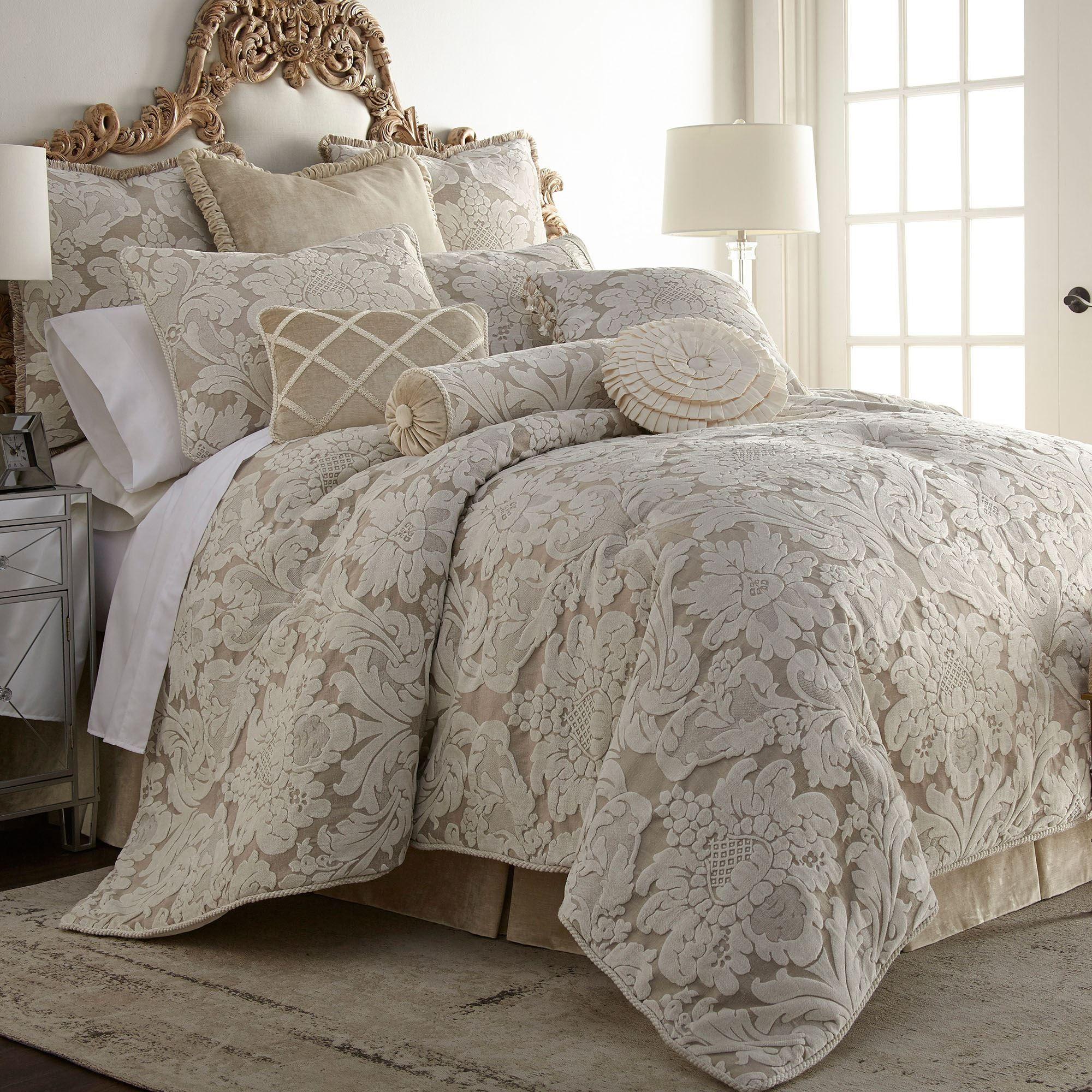 Brighton Damask Comforter Bedding by Austin Horn Classics
