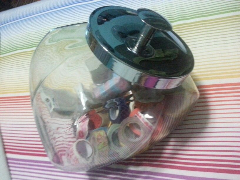 """More space in my """"candy jar"""" for washi haha :)"""